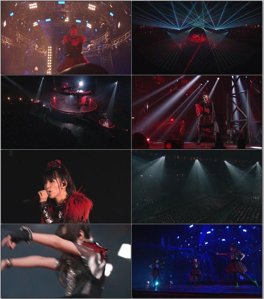 BABYMETAL - LIVE AT TOKYO DOME -Red Night & Black Night- (2017) 1080P蓝光原盘 [2BD BDMV 49.6G]