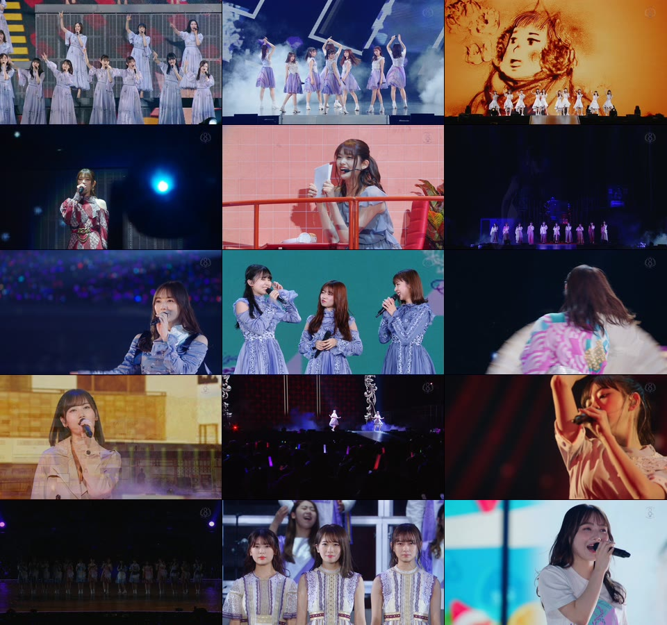 乃木坂46 (Nogizaka46) - 8th YEAR BIRTHDAY LIVE [完全生産限定盤] (2020) 1080P蓝光原盘 [5BD BDISO 196.1G]